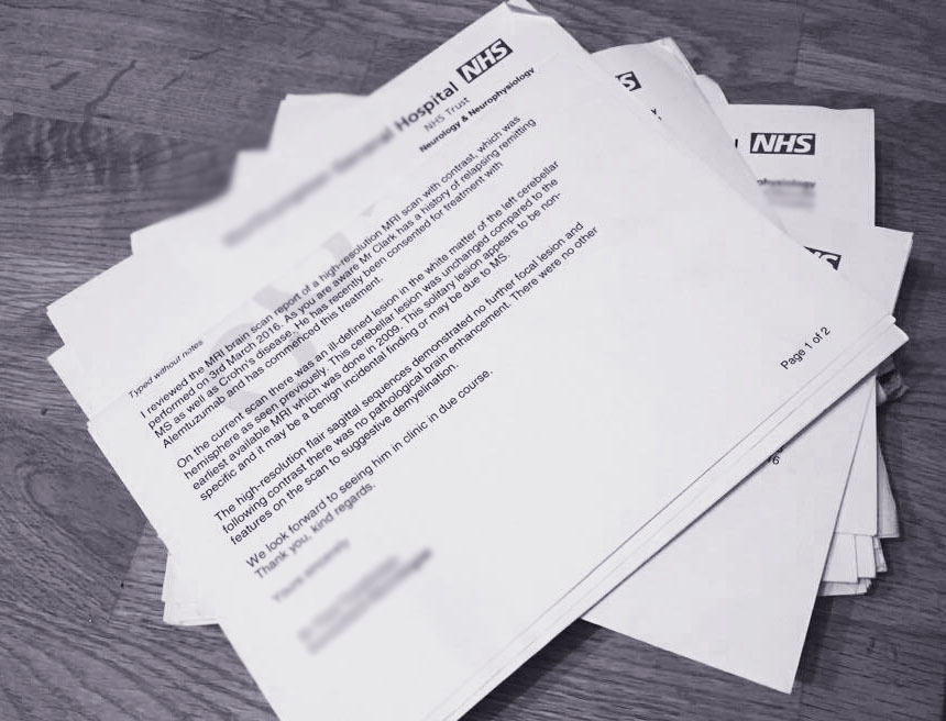 Hospital Letters   Adapting Life